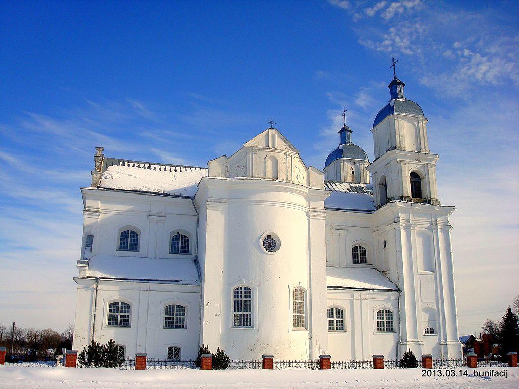Dunilovichi kostel 1 - Костел Святой Троицы в деревне Дуниловичи