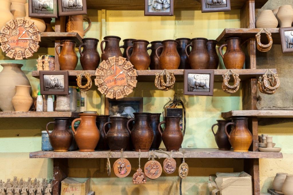 Keramika iz Belarusi - Сувениры из Беларуси