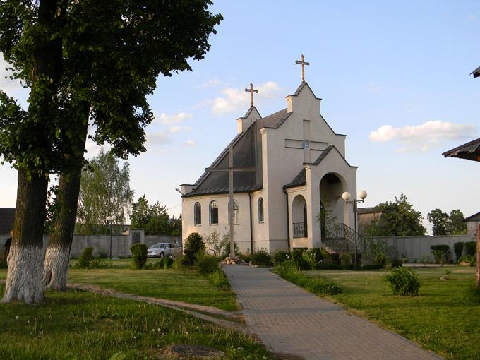 Kostel Smolevichi - Костел Святого Валентина в Смолевичах