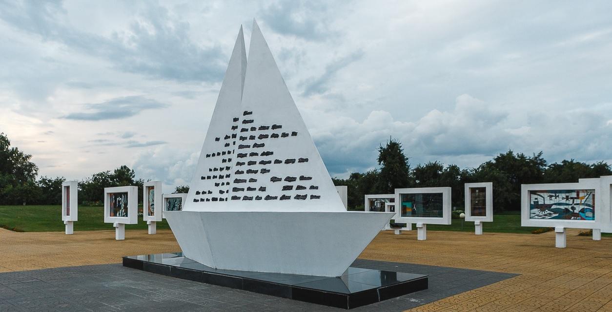Krasnyj bereg 1 - Музеи под открытым небом в Беларуси