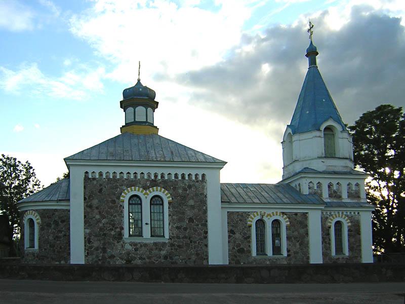 Novyj Pogost tserkov 1 - Церковь Святого Николая в деревне Новый Погост