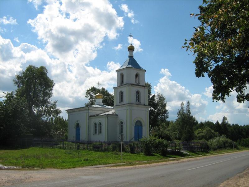 Orehovno tserkov 2 1 - Церковь Святой Параскевы Пятницы и усадьба Гребницких в Ореховно