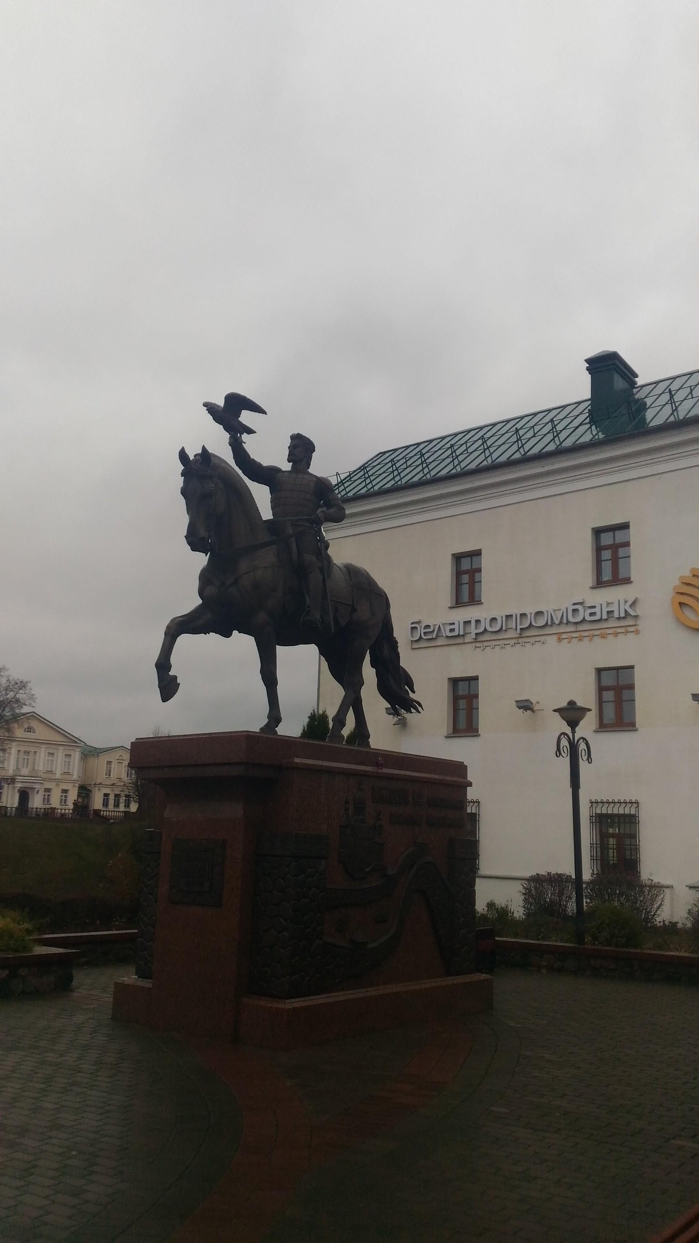 P 20191109 110513 1 - Памятник князю Ольгерду в Витебске