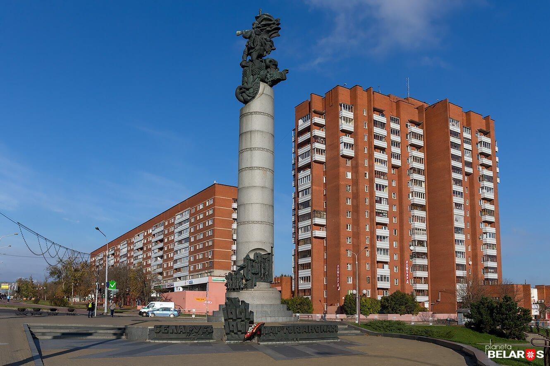 Памятник Беларусь партизанская
