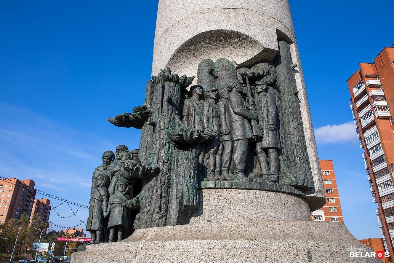 Памятник Беларусь партизанская 2