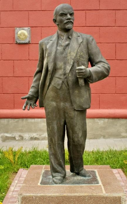 Памятник Ленину в Червене