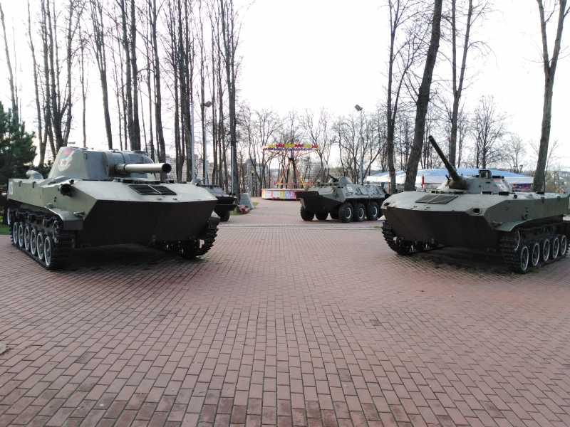 Park Pobedy3 1 - Парк Победителей в Витебске