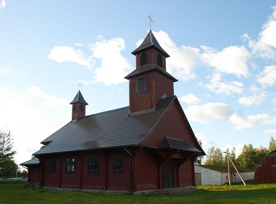 Perebrode kostel 1 - Перебродье