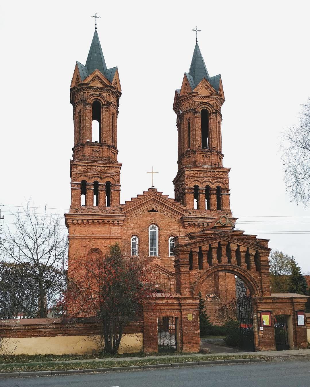 QeHDJ81i1513762477 - Костёл святой Варвары в Витебске