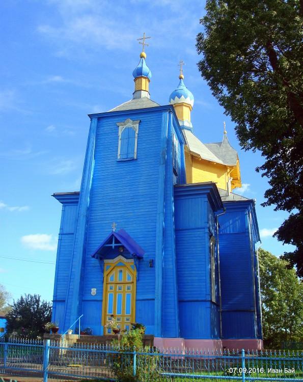SHarkovshhina tserkov 1 - Церковь Успения Пресвятой Богородицы в Шарковщине