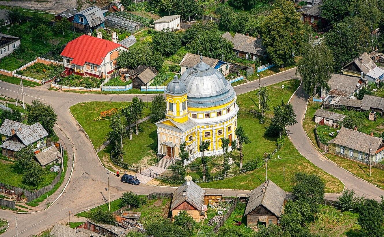 SPASO PREOBRAZHENSKAYA TSERKOV V CHECHERSKE - Спасо-преображенская церковь в Чечерске