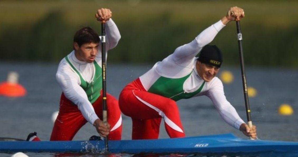 Каноэ-двойка, 1000 метров - А. и А. Богдановичи