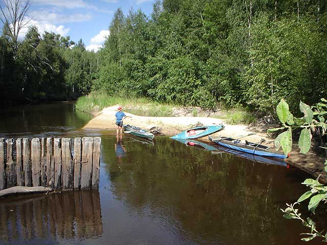 "Stviga - Водный маршрут ""Река Ствига"""