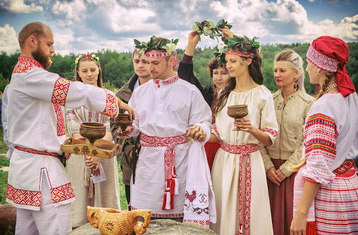 Svadba v Belarusi - Обряды и традиции Беларуси