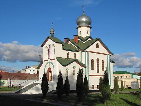 TSerkov Leonida - Церковь святого мученика Леонида в Орше