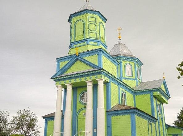 Троицкая Церковь в Блони