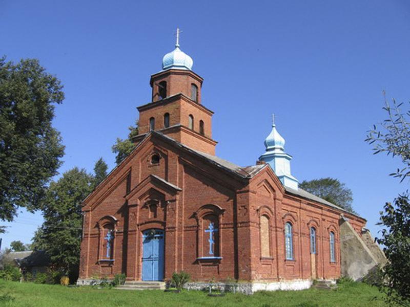 Vidzy tserkov staroobryadcheskaya 1 - Храм Успения Пресвятой Богородицы в Видзах