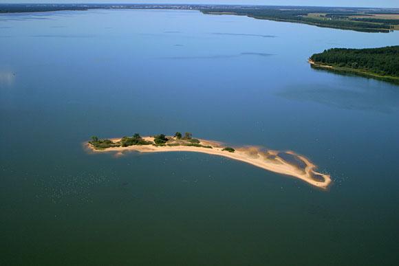 Вилейское водохранилище - Остров