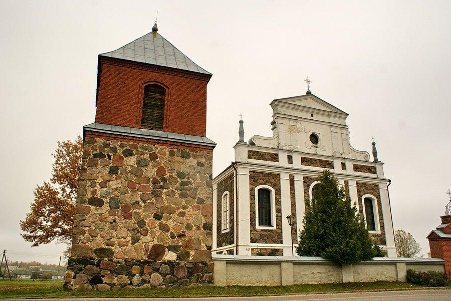 Volkolata 1 - Костел Святого Иоанна Крестителя в деревне Волколата