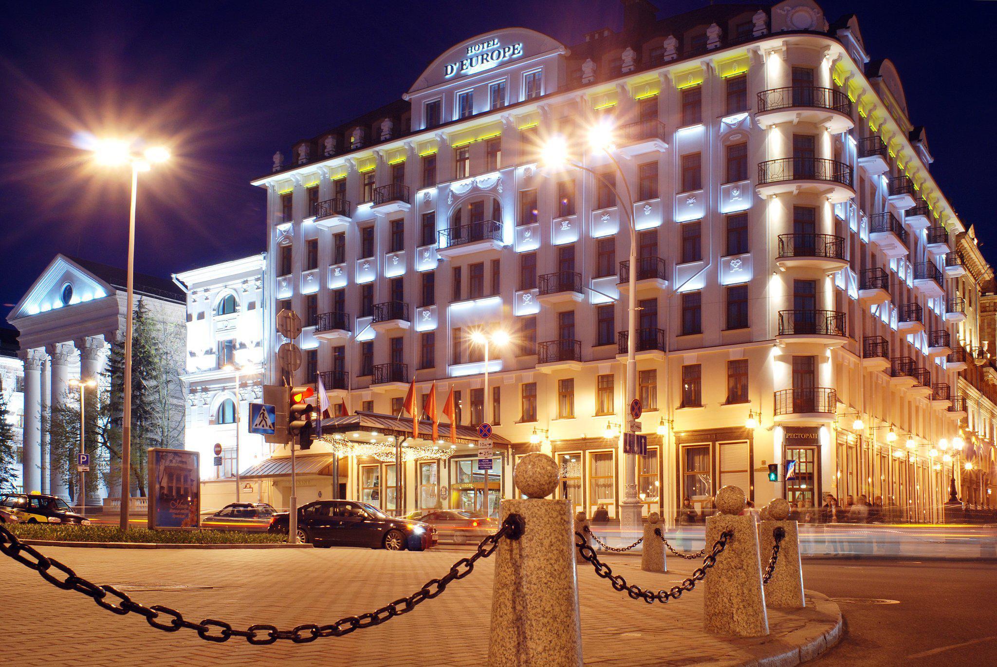 evropa - Гостиница Европа Минск