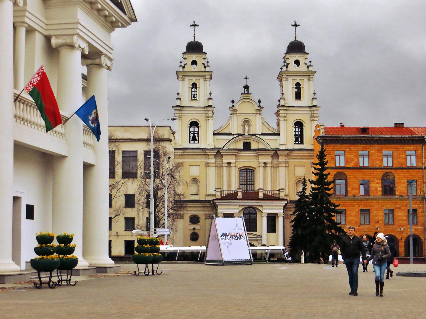 mariinskij sobor - Собор Святого Имени Пресвятой Девы Марии в Минске