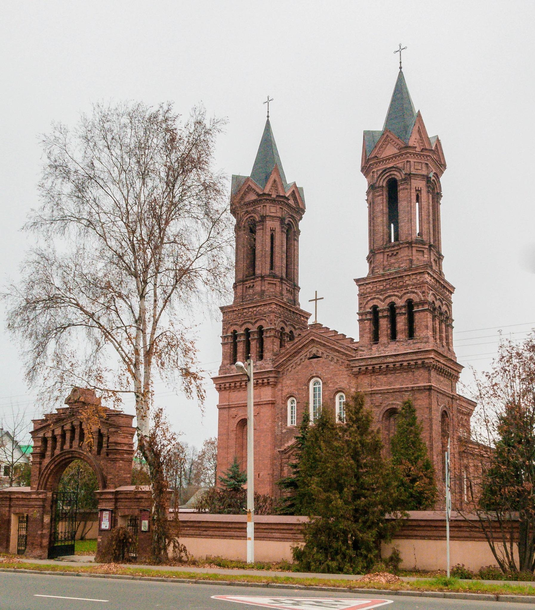 original 3 1 - Костёл святой Варвары в Витебске