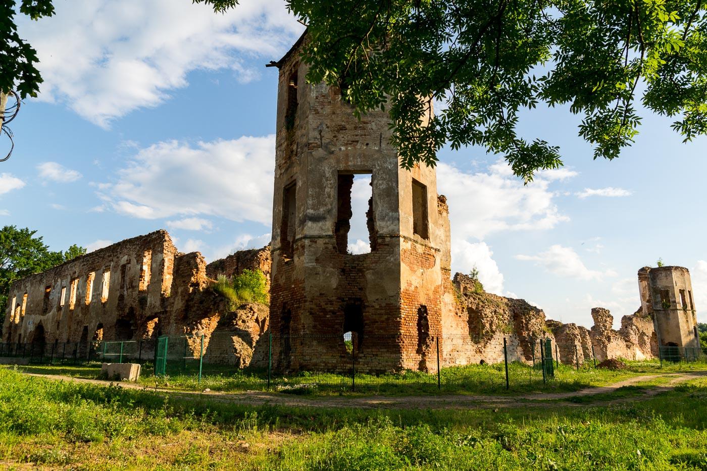 ruiny Golshanskogo zamka 2 - Руины Гольшанского замка