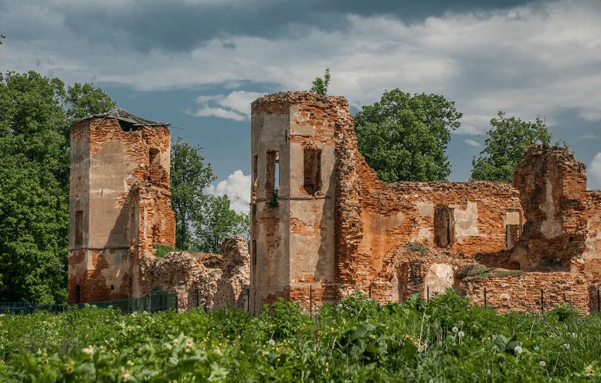 ruiny Golshanskogo zamka 3 - Руины Гольшанского замка